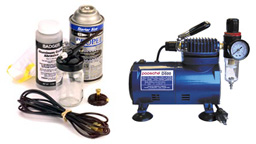 Airbrushes & Compressors