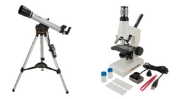 Microscopes, Telescopes, & Binoculars